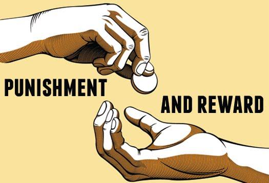 reward and punishment pada sop