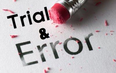 sop perlu dilakukan testing trial dan error