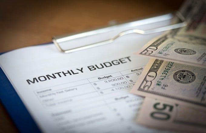 perhitungan budget adalah