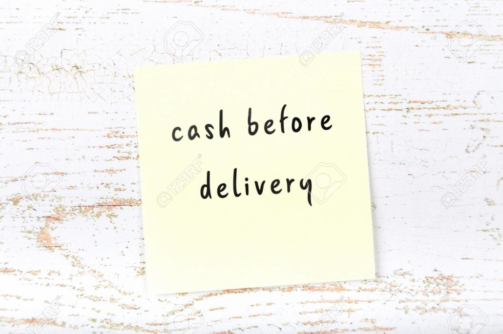 cash before delivery term