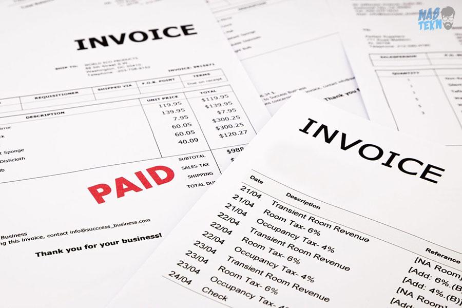invoice adalah apa sih