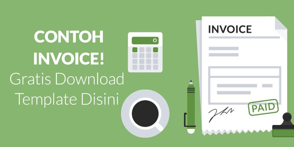 Contoh Invoice Untuk Perusahaan Template Invoice Gratis