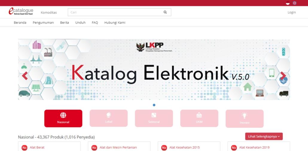 katalog elektronik pemerintah